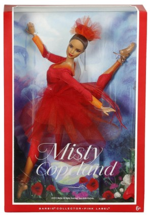 Misty Copeland barbie in box
